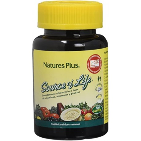 NATURES PLUS SOURCE OF LIFE 60 COMP.