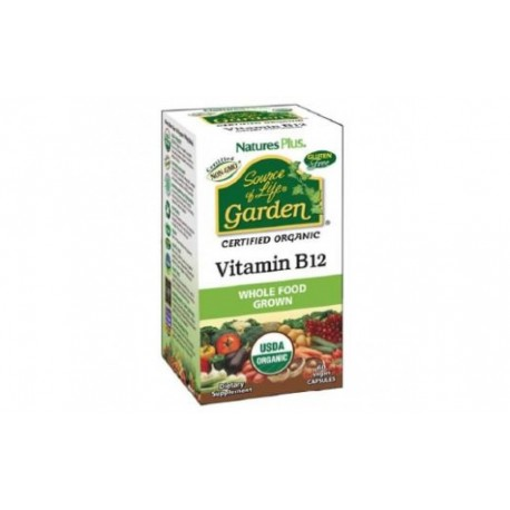 NATURES PLUS VITAMINA B-12 VEGANA