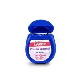 LACER CINTA DENTAL FLUOR Y TRICLOSAN 25 ML